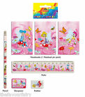 5 pce Fairy Stationery Set Party Loot Bag Filler Fete Prizes FREE POST Any Qty
