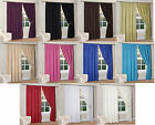 Thermal Insulated Bedroom Curtains Fully Lined Light Reducing in 11 colours