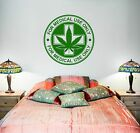 Wall Vinyl Medical Maryhuana Stamps Mural Vinyl Decal