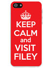 KEEP CALM AND VISIT FILEY MOBILE iPHONE CASE - Yorkshire - 4/4S, 5/5S, 6/6 Plus