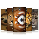 HEAD CASE DESIGNS ANIMAL FACES SERIES 2 HARD BACK CASE FOR ONEPLUS ONE