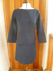 TOAST SMART AMIKA TUNIC POCKET DRESS NAVY BLUE TEXTURED COTTON UK 6 BNWT