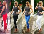 Womens Leggings Full Length Hight Quality Cotton Active Sport Gym Run Trousers