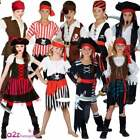 PIRATE CAPTAIN BUCCANEER CARIBBEAN BOOK DAY HALLOWEEN KIDS FANCY DRESS COSTUME