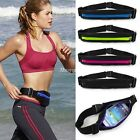 Sport Running Gym Zipper Fanny Pack Belly Waist Bag Fitness Running Belt Pouchs