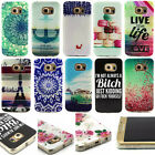 New Rubber Soft TPU Silicone Phone Back Case Cover For Samsung Galaxy S6 Edge