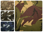 "Camo Cotton Drill Fabric | Army Military Camouflage Material | 150cm (59"") Wide"