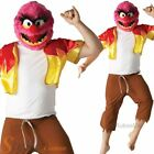 Mens Animal Muppets Sesame Street Book Week Fancy Dress Costume Adult Outfit
