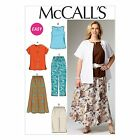 McCalls 6970 PLUS SIZE Shirt Top Skirt Pants Trousers Sewing Pattern M6970