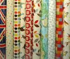 Prestigious PVC Fabric WIPE CLEAN Tablecloth Oilcloth All Designs and Sizes