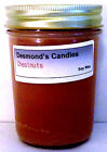 Desmond's Candles Homemade Scented Chestnuts Soy Jar Candle
