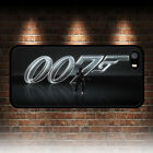 JAMES BOND SILVER 007 PHONE CASE APPLE IPHONE 4 4S 5 5S SE 5C 6 6S 7 8 PLUS X $10.51 USD on eBay