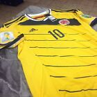 2014 SELECCION COLOMBIA NATIONAL TEAM ADIDAS HOME ADIZERO JAMES JERSEY (G85389)