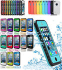 For Apple iPhone 5/5S 5C 6/4.7'' 6/5.5'' Waterproof Shockproof Dirt Proof Case