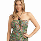 NEW Freya Swimwear Woodstock Bandeau Tankini Top 3381 Willow Green VARIOUS SIZES