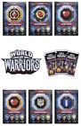 Topps World Of Warriors Trading Cards. Talisman Cards 241-264
