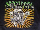 """New! Allman Brothers """"Mushroom"""" Classic Rock Band Licensed Concert Adult T-Shirt image"""