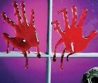 3D Bloody Spooky  Halloween Horror Window Cling Decorations - Choice of Designs