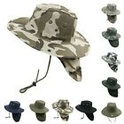 Boonie Fishing Hiking Summer Military Snap Brim Neck Cover Bucket Flap Hat Cap
