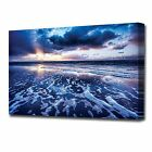 2116 LARGE OCEAN LANDSCAPE CANVAS PRINT