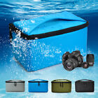 Quality Shockproof Camera DSLR Insert Partition Capped Padded Case Bag W/Handle
