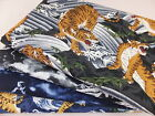 SB Oriental Tigers and Dragons 100% Cotton Japanese Fabric