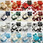 Luxury Two Tone Wedding Favour Boxes & Lids DIY Baby Shower Party Winter Colours