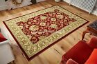 Kendra Woven 45 M Red Beige Traditional Rug in various sizes and runner