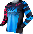 Fox Racing Womens Youth Girls Blue Red Black 180 Dirt Bike Jersey MX ATV 2015