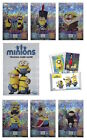 Topps Minions Trading Cards. Individual Shiny Cards 01-32