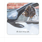 THE LITTLE DOG LAUGHED CORK COASTERS NEW SOLD FOR HOSPICE MANY DESIGNS