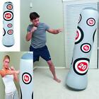 "Inflatable Boxing Bag Punching Bag Free Standing 63"" BOP Indoor Outdoor Fitness"