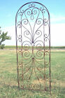 Wrought Iron Heart Trellis - Pretty Metal Support for Vines & Garden Flowers