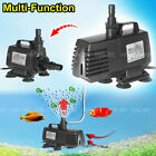 4 in 1 Aquarium Pond Water Filter Pump Oxygenator 1200L/H 2400LV4000/5000