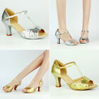 New Lady Shoes Sexy Heels Sequin Stiletto Peep Toe Pumps Strappy Buckle Sandals