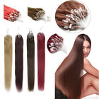 Remy Human Hair Extensions100S Micro Ring Loop Bead Tip Hair Thick 1g/s 100Gram