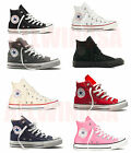 CONVERSE Chuck Taylor All Star High Top Shoes Unisex Canvas YOUTH KIDS Sneakers