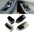 2x Front Door Container Armrest Storage Box Holder For Audi A4 Q5 2012-2014