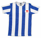 Retro Huddersfield Town Terriers 1960s Football T Shirt Embroidered Logo S-XXL
