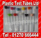 Wedding favours, Test tubes for shots, 150 x 16mm plastic tube & Top, 20ml Vol