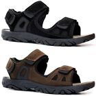 Mens Leather Strap Walking Summer Beach Mules Gladiator Sandals Shoe Size