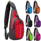 Women Bags Punk Nylon Small Chest Bag Mens Messenger Bag Outdoor Gym Sports Bag
