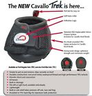 Cavallo Trek Hoof Boot With Free Velcro Closure.