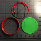 Tennis Ball Cookie Cutter and Stamp