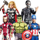 The Avengers Boys Fancy Dress Age of Ultron Superhero Marvel Childs Kids Costume
