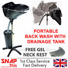 Hairdressing Back Wash Shampoo Basin Sink Hairdresser Salon Hair Portable Mobile