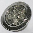 "Pentagram Cookie Stamp (1 3/8"" dia.)-Hand Crafted -Cookie  Decoration -"