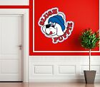 LARGE SLUSH PUPPY SIGN PICTURE STICKER SOFT DRINK ICE MACHINE CATERING LOGO