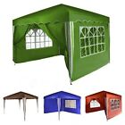 Gazebo Garden Tent PARADISE 3 x 3 m Party Tent Canopy Marquee with 4 side panels