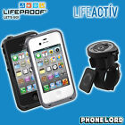 Genuine Lifeproof waterproof tough case for iPhone 4 4S + Lifeactiv Bike Mount